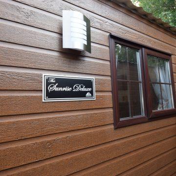 Sunrise Lodge CanExel Cladding