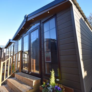 Sunrise Lodge Deluxe 3 bed - CanExel Mobile Garden Home