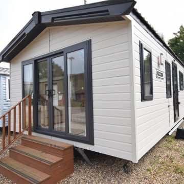 Willerby Dorchester Residential Log Cabin Exterior